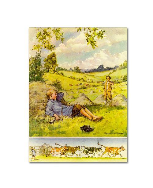 "Trademark Global Vintage Apple Collection 'CA Fairy 73' Canvas Art - 24"" x 32"""