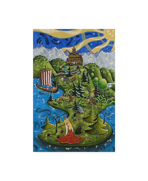 "Trademark Global Jake Hose 'Norwegian Princess' Canvas Art - 22"" x 32"""