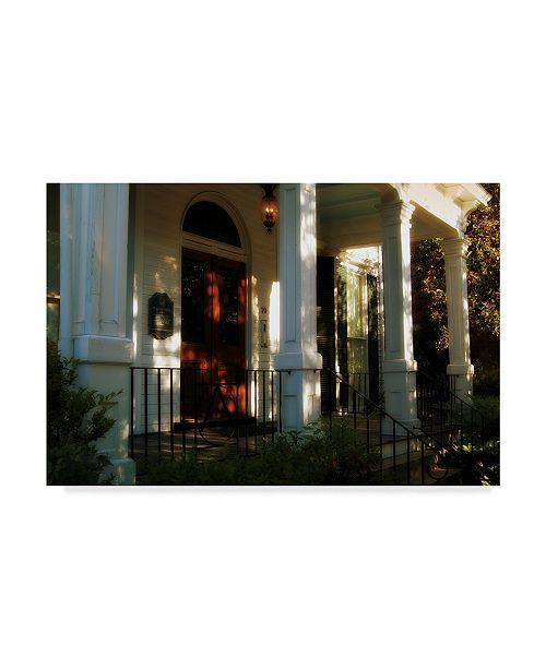 """Trademark Global John W. Golden 'The Front Porch' Canvas Art - 22"""" x 32"""""""