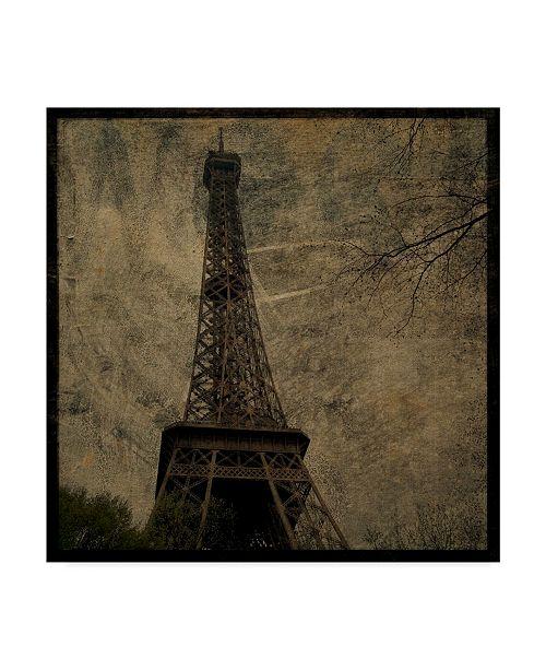 """Trademark Global John W. Golden 'Eiffel' Canvas Art - 35"""" x 35"""""""
