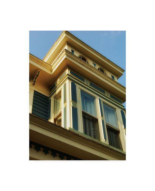 "Trademark Global John W. Golden 'Top Window' Canvas Art - 35"" x 47"""