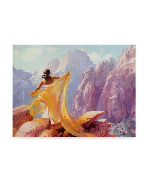 "Trademark Global Steve Henderson 'Dream Catcher' Canvas Art - 35"" x 47"""
