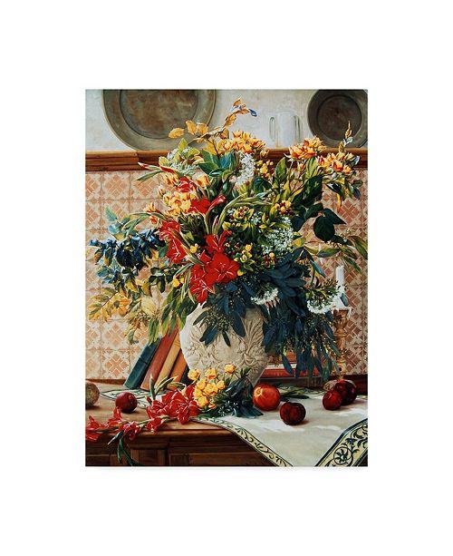 "Trademark Global Robin Anderson 'Autumn Retreat' Canvas Art - 24"" x 32"""