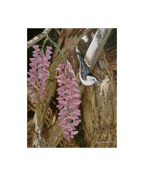 "Trademark Global Ron Parker 'Wysteria' Canvas Art - 24"" x 32"""