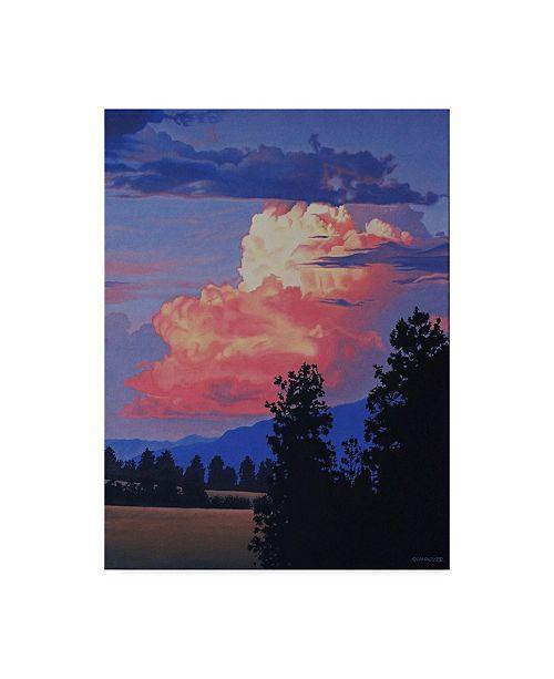 """Trademark Global Ron Parker 'Evening Clouds' Canvas Art - 35"""" x 47"""""""