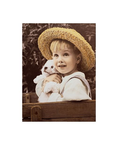 "Trademark Global Sharon Forbes 'Danny Boy' Canvas Art - 35"" x 47"""