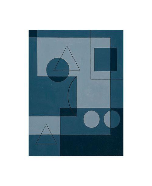 "Trademark Global Peter McClure 'Axiom' Canvas Art - 24"" x 32"""