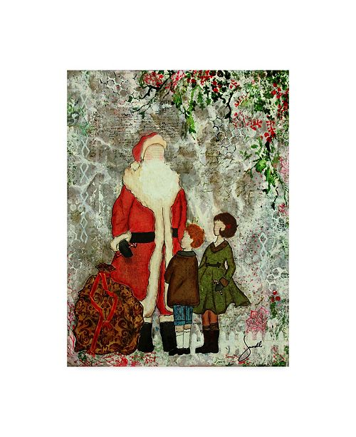 "Trademark Global Janelle Nichol 'A Christmas Memory' Canvas Art - 35"" x 47"""