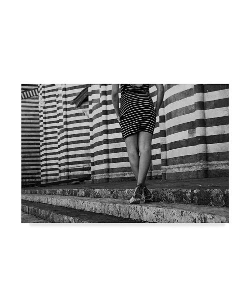"Trademark Global Jason Matias 'Lazy Stroll' Canvas Art - 47"" x 30"""