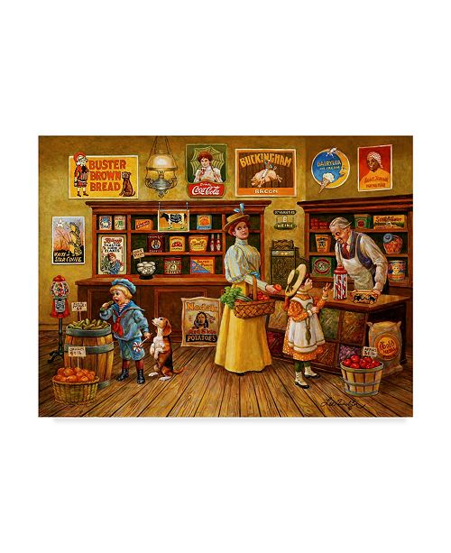 """Trademark Global Lee Dubin 'Colors In The Shop' Canvas Art - 32"""" x 24"""""""