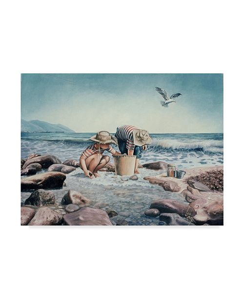 "Trademark Global Les Ray 'The Rincon Explorers' Canvas Art - 47"" x 35"""