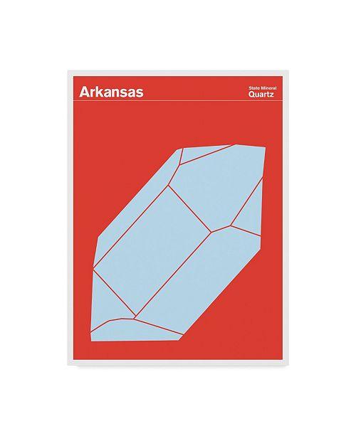 "Trademark Global Print Collection - Artist 'Arkansas Quartz' Canvas Art - 24"" x 32"""