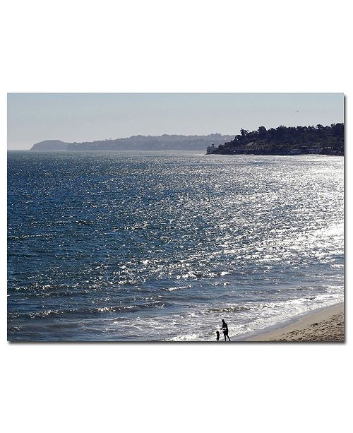 "Trademark Global Malibu by Kurt Shaffer-Art Canvas Art - 24"" x 18"""