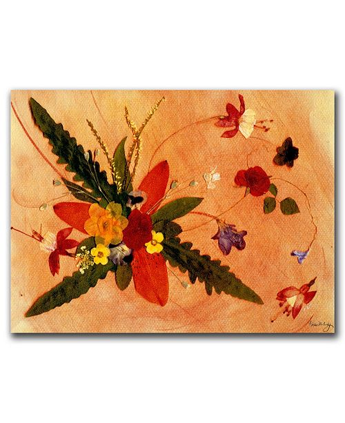 "Trademark Global Whirled Away by Kathie McCurdy Canvas Art - 24"" x 18"""