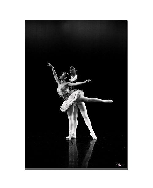 "Trademark Global Martha Guerra 'Dancers III' Canvas Art - 47"" x 30"""