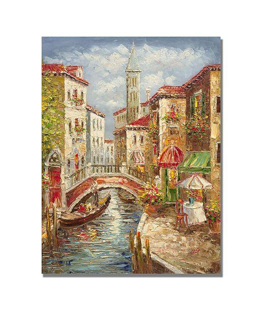 "Trademark Global Rio 'Venice' Canvas Art - 24"" x 18"""