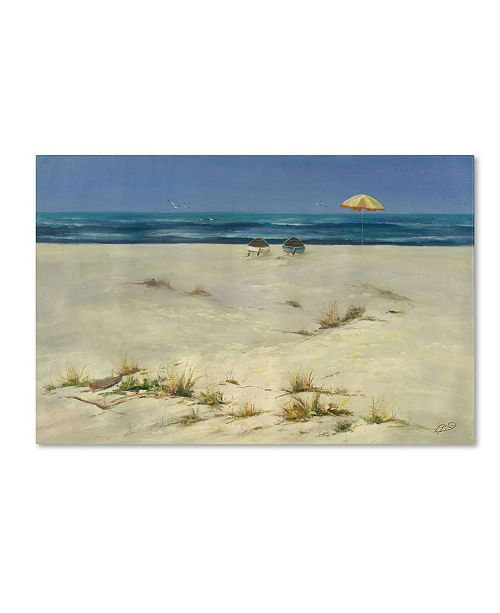 "Trademark Global Rio 'Two Small Boats' Canvas Art - 47"" x 30"""
