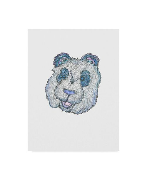"Trademark Global Jessmessin 'Panda' Canvas Art - 14"" x 19"""