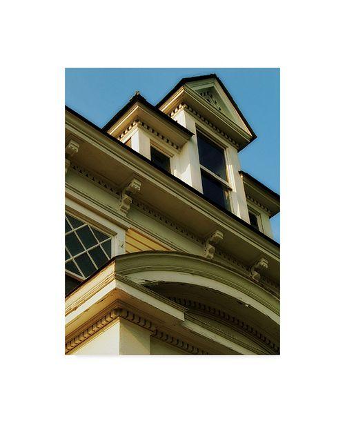 "Trademark Global John W. Golden 'Yellow Mansion' Canvas Art - 14"" x 19"""