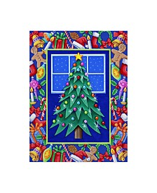 "Kimura Designs 'Christmas Tree' Canvas Art - 14"" x 19"""