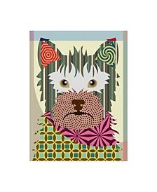 """Lanre Adefioye 'Australian Terrier' Canvas Art - 14"""" x 19"""""""