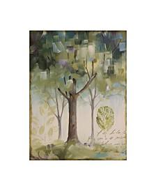 "Lisa Audit 'Hopes and Greens III' Canvas Art - 14"" x 19"""