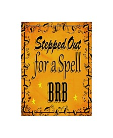 """Valarie Wade 'Stepped Out For A Spell' Canvas Art - 14"""" x 19"""""""