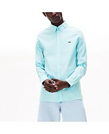 Lacoste Men's Slim-Fit Poplin Stretch Shirt