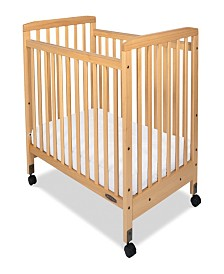 Bristol Fixed Side Compact Slatted Crib