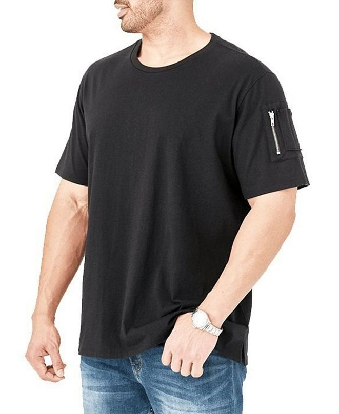 Mvp Collections By Mo Vaughn Productions Men's Cargo Zipper Pocket T-shirt