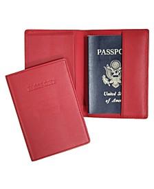 Royce New York Passport Embossed RFID Blocking Passport Case