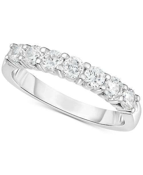 Macy's Diamond Band (1/5 ct. t.w.) in 14k White Gold
