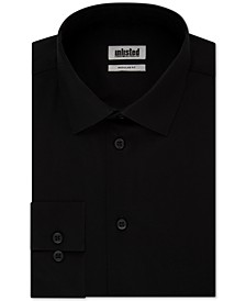 Unlisted Men's Classic/Regular-Fit Solid Dress Shirt