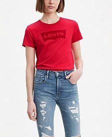 Levi's® Batwing Cotton The Perfect Tee Logo Graphic T-Shirt