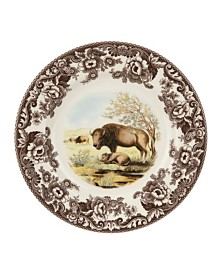 Spode Woodland Bison Dinner Plate