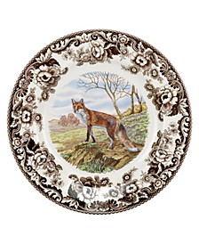 Woodland Red Fox Dinner Plate