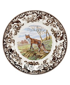 Spode Woodland Red Fox Collection
