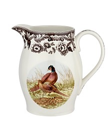 Spode Woodland Pheasant Pitcher