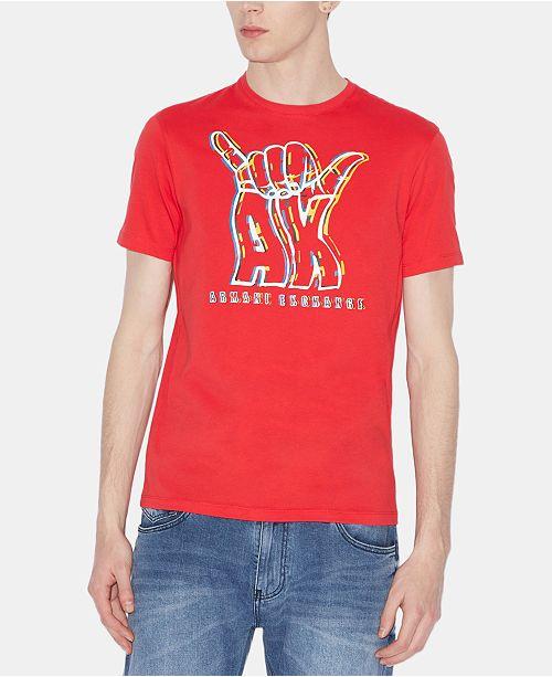 A|X Armani Exchange A|X Arrmani Exchange Men's Hang Loose Graphic T-Shirt