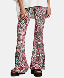 Harper Printed Pull-On Pants