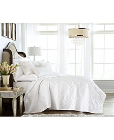 Classic Medallion King Coverlet, Created for Macy's