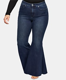 Free People Curvy Ma Cherie Flare Jeans