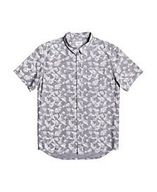 Men's Leaf Camo Short Sleeve Shirt