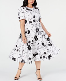 Calvin Klein Plus Size Clothing - Dresses & Tops - Macy's