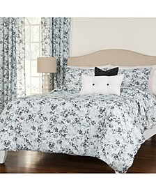 Rococco 5 Piece Twin Luxury Duvet Set