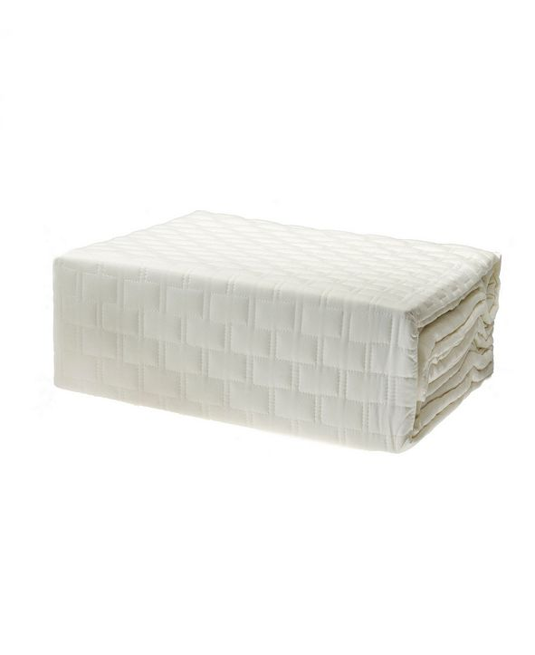 BedVoyage Quilted Coverlet, King Long