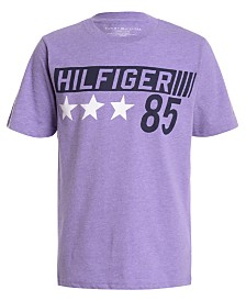 Tommy Hilfiger Big Boys Highlighter 85 Logo T-Shirt