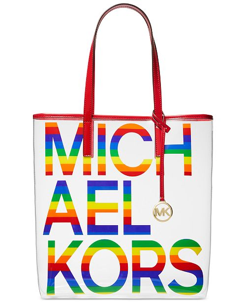 Michael Kors The Michael Bag Clear North South Tote