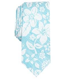 Men's Seaside Skinny Floral Tie, Created for Macy's