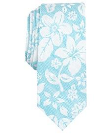 Bar III Men's Seaside Skinny Floral Tie, Created for Macy's